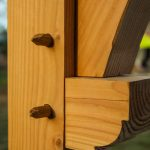 Assemblage bois du Tiny Sauna