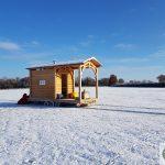 Tiny sauna, sauna extérieure, sauna neige,location sauna, fabriquer un sauna