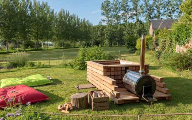 location et vente bain nordique en Poitou Charentes par West Wood Tiny